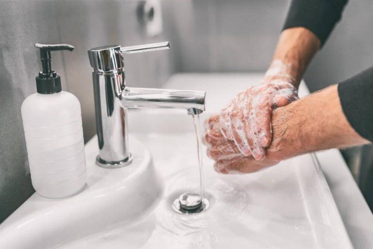 higienizacao das maos como fazer importancia passo passo