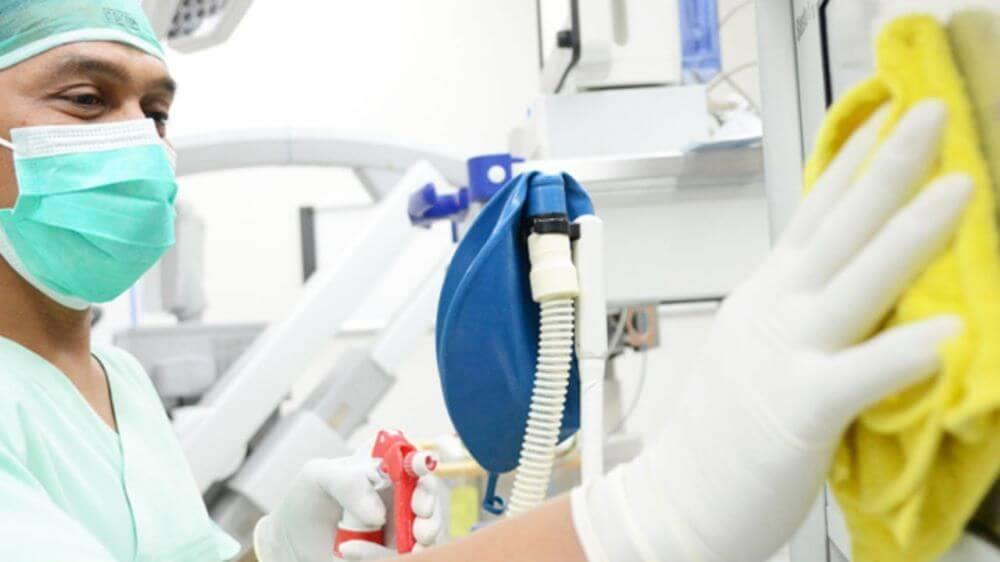 equipamentos medicos hospitalares higienizacao