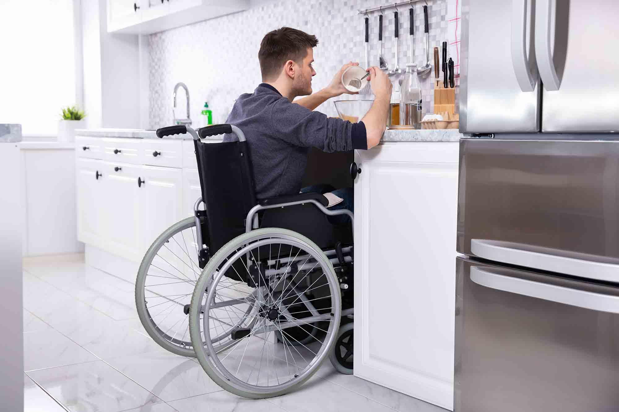 Como são padronizadas as medidas da cadeira de rodas