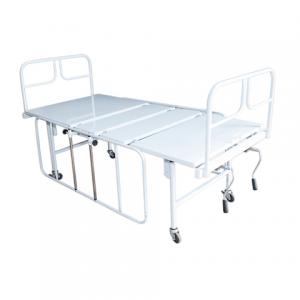 Cama Hospitalar Manual Duas Manivelas Standard Vista Frente